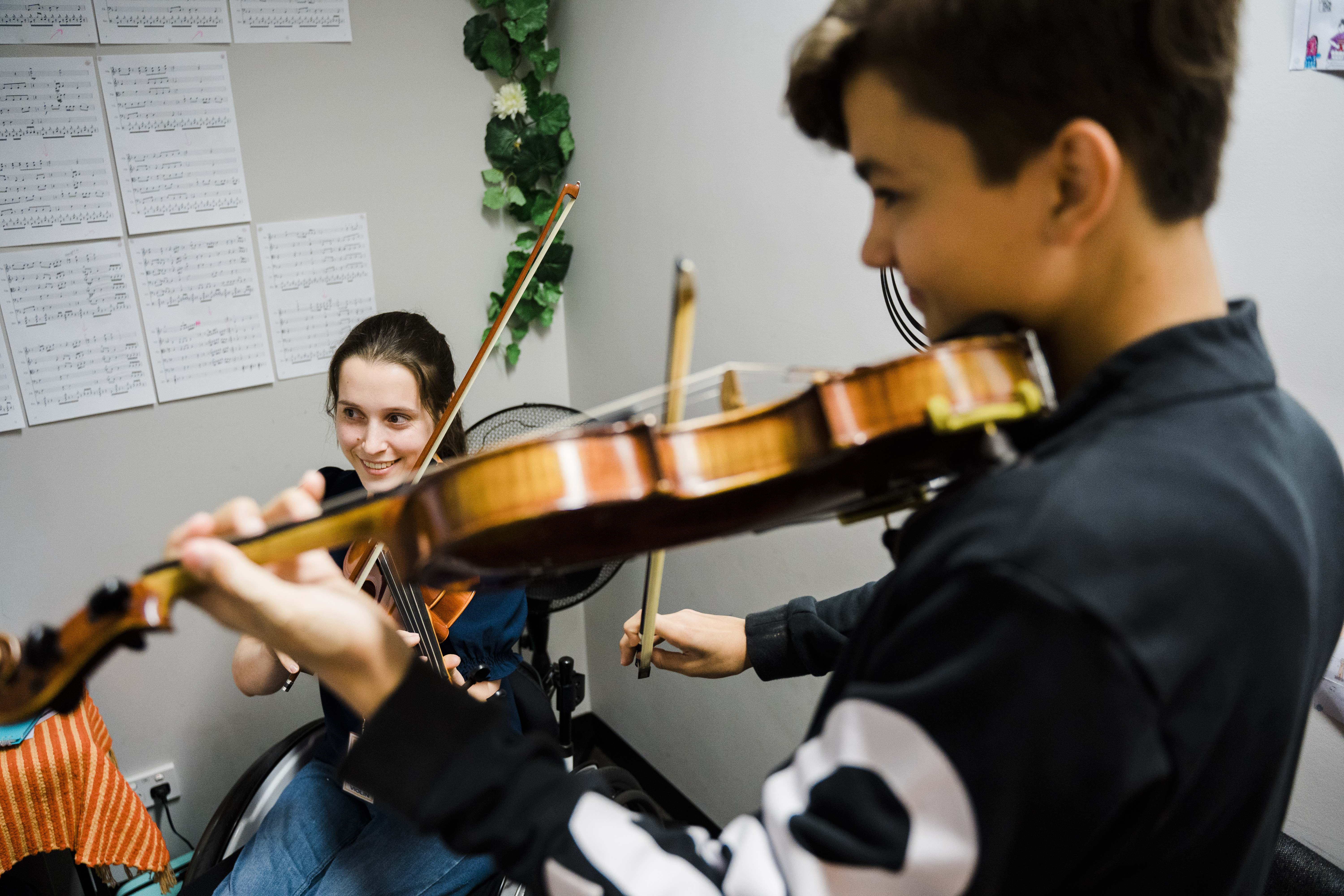 violin lessons kids to adults