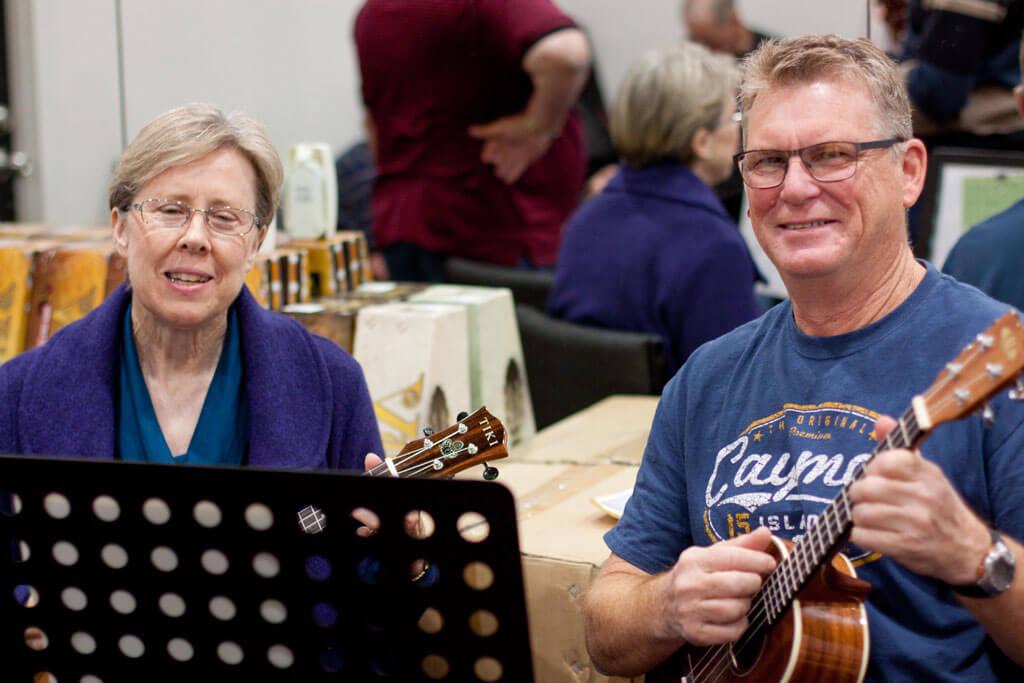 seniors ukulele