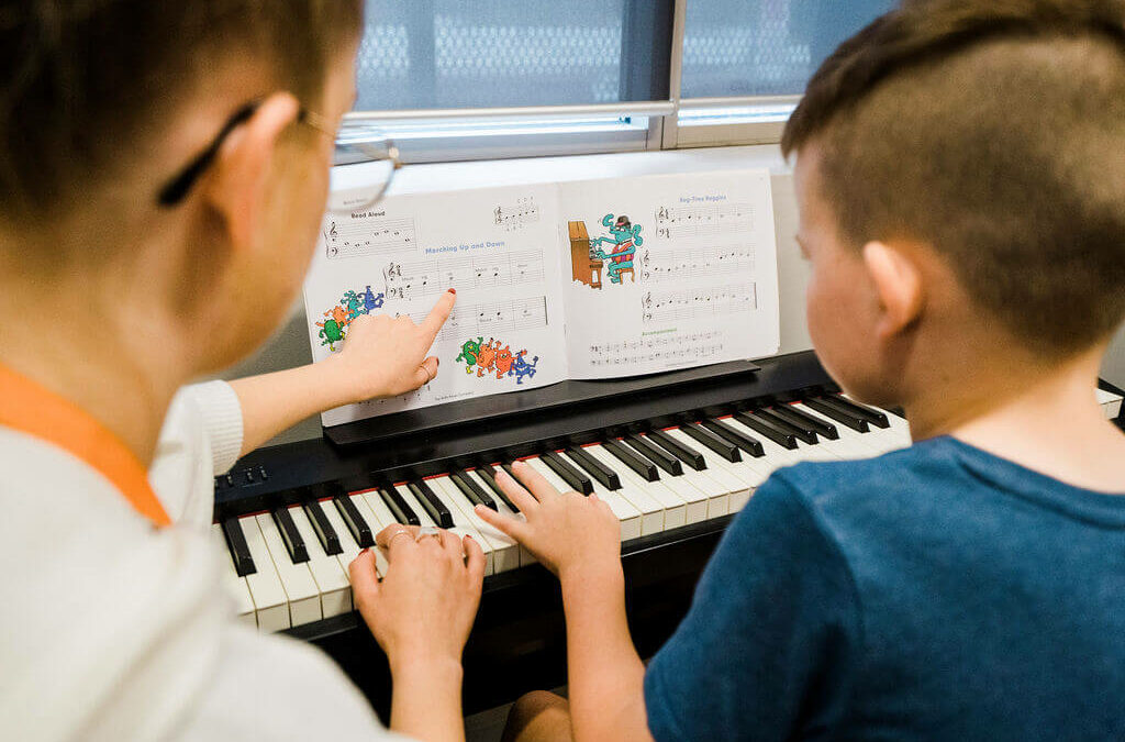 Benefits of music lessons for kids